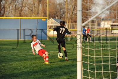 4-17-15 Bluffton U-12  (Eden's team) vs Glass City-65