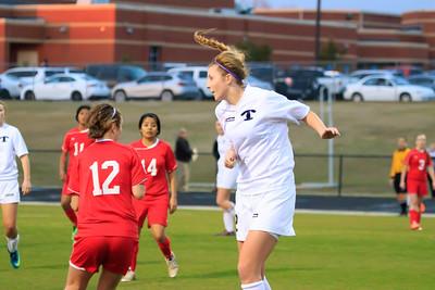 Tift County Ladies Soccer vs Cario