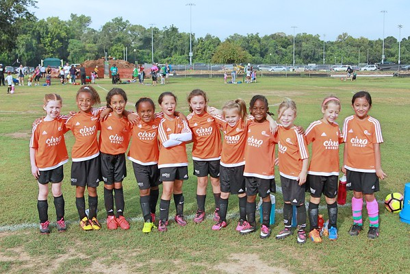 Fall 2016 Soccer Week 4 - U8 Cheetah Girls
