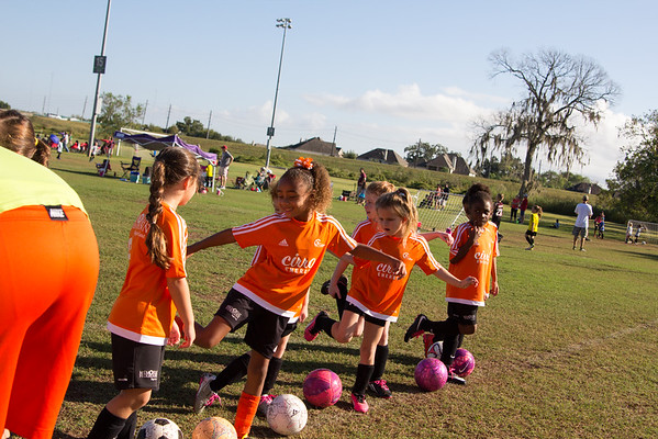 Fall 2016 Soccer Week 6 - U8 Cheetah Girls