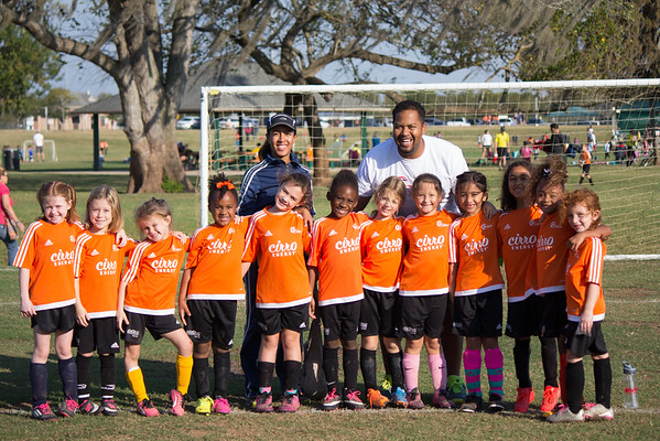 Fall 2016 Soccer Week 9 - U8 Cheetah Girls