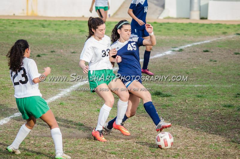 2016 Eagle Rock Girls Soccer vs Marshall Barristers