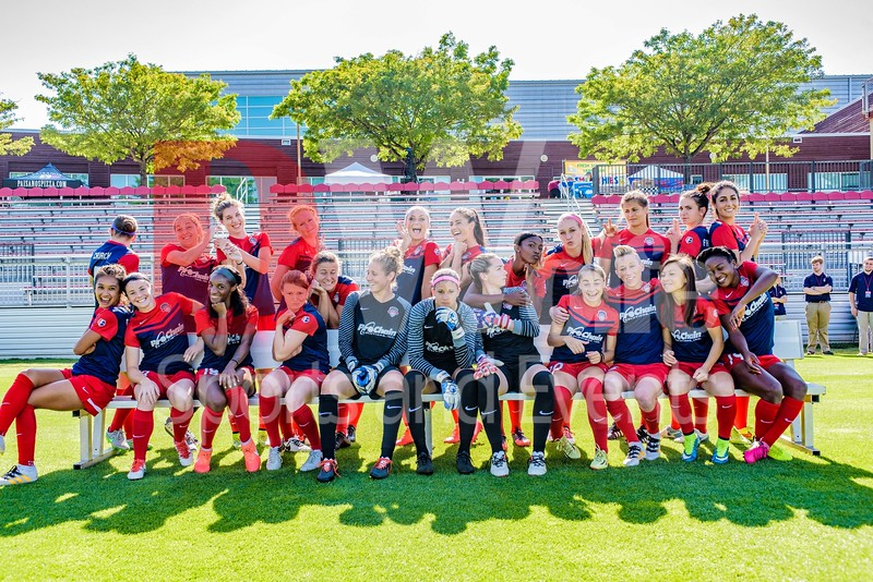 2016 Washington Spirit Team Photo - Silly