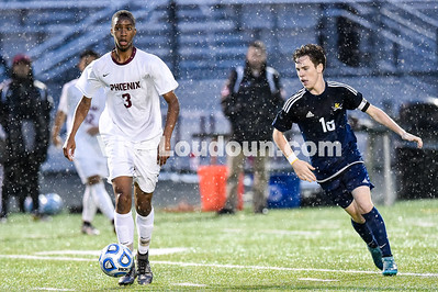 Boys Soccer - Varsity: Loudoun County vs Rock Ridge 5.3.2016