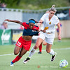 Washington Spirit forward Crystal Dunn exchanges jersey love with  Alanna Kennedy, defender for the Western New York Flash.
