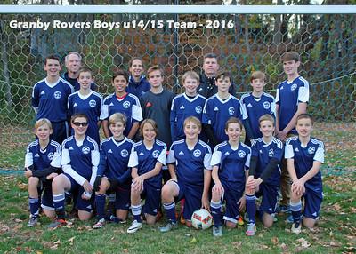 2016_10_30  Rovers U14/15 Season End Party