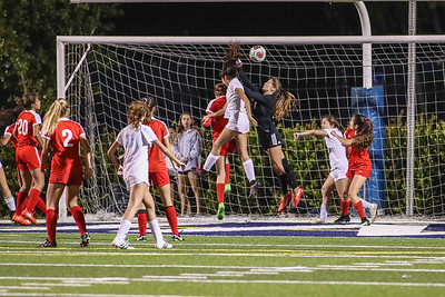 Our Lady of Lourdes vs. Coral Gables High School.  Regional Semi-final game, 2017
