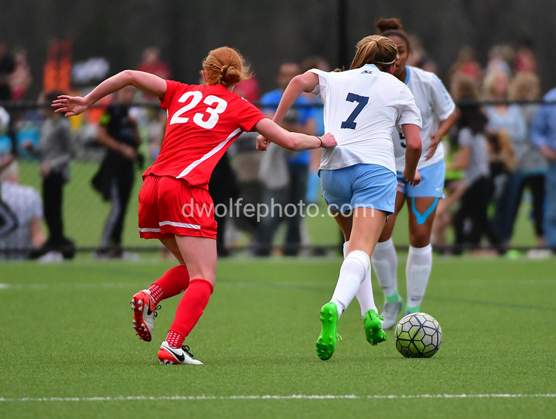 Preseason match Washington Spirit vs. University of North Carolina