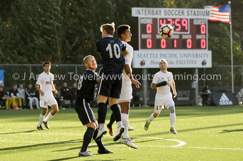 20171026 Mens Soccer Seattle Pacific University versus Concordia University Cavaliers Snapshots