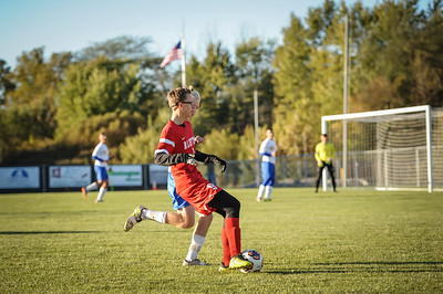 10-24-18 Bluffton HS Boys Soccer at Semi-Distrcts vs Conteninental-96