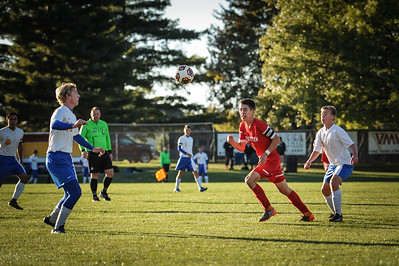 10-24-18 Bluffton HS Boys Soccer at Semi-Distrcts vs Conteninental-80