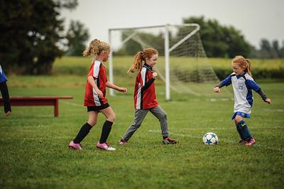 9-08-18 Eva Nygaard's u-8 soccer game vs LB-51