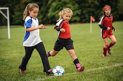 9-08-18 Eva Nygaard's u-8 soccer game vs LB-16