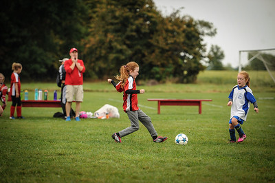 9-08-18 Eva Nygaard's u-8 soccer game vs LB-37