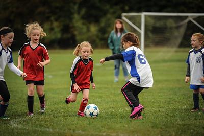 9-08-18 Eva Nygaard's u-8 soccer game vs LB-58