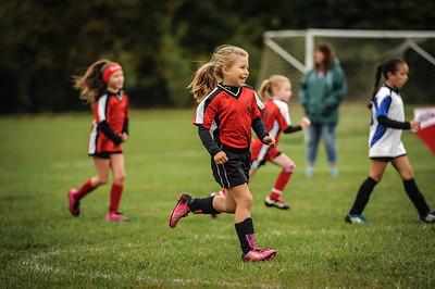 9-08-18 Eva Nygaard's u-8 soccer game vs LB-23
