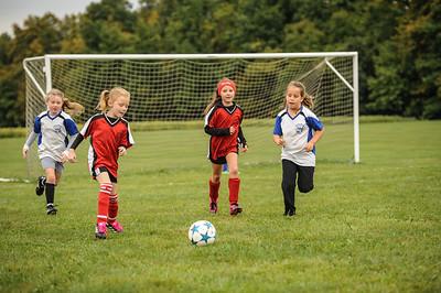 9-08-18 Eva Nygaard's u-8 soccer game vs LB-7