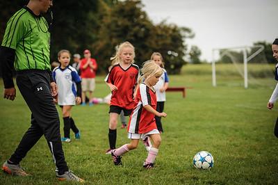 9-08-18 Eva Nygaard's u-8 soccer game vs LB-39