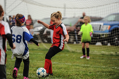 9-08-18 Eva Nygaard's u-8 soccer game vs LB-34