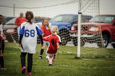 9-08-18 Eva Nygaard's u-8 soccer game vs LB-43