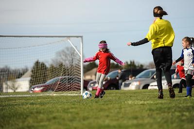 4-21-18 Eva's U8 soccer game -35