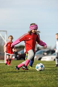 4-21-18 Eva's U8 soccer game -38