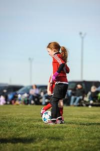 4-21-18 Eva's U8 soccer game -43