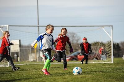 4-21-18 Eva's U8 soccer game -11