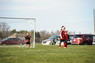 4-21-18 Eva's U8 soccer game -7