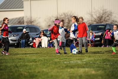 4-21-18 Eva's U8 soccer game -9