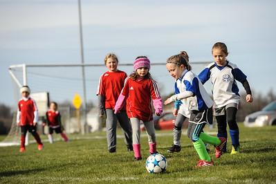 4-21-18 Eva's U8 soccer game -13