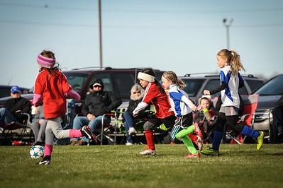 4-21-18 Eva's U8 soccer game -28