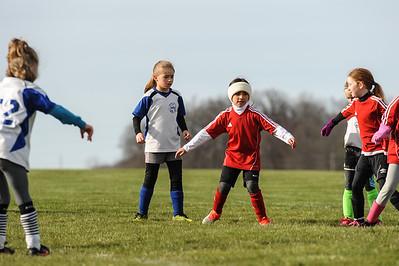 4-21-18 Eva's U8 soccer game -45