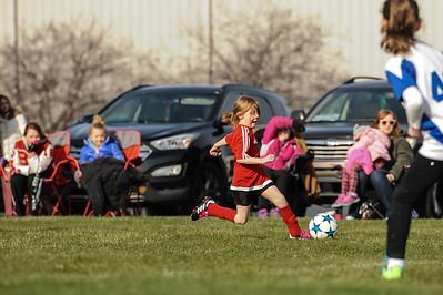 4-21-18 Eva's U8 soccer game -46
