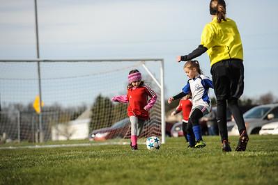 4-21-18 Eva's U8 soccer game -36