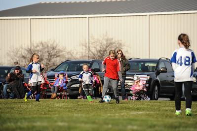 4-21-18 Eva's U8 soccer game -26