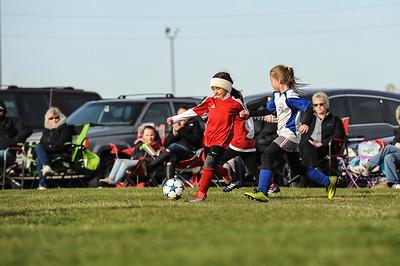 4-21-18 Eva's U8 soccer game -33
