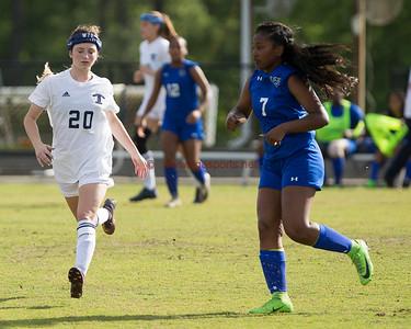 GHSA Soccer AAAAAAA First Round Playoff  Tift County defeats Westlake girls 4-2