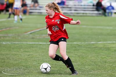 Lancaster Legends JV Girls Soccer vs Frontier Falcons.