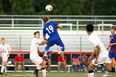 Fairport Red Raiders vs Rush-Henrietta Royal Comets. 9/13/2018.