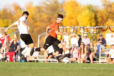 Akron Varsity Soccer vs Lyndonville Tigers.10/9/18