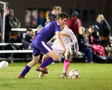 Akron Varsity Soccer vs Roy-Hart Rams.10/11/18