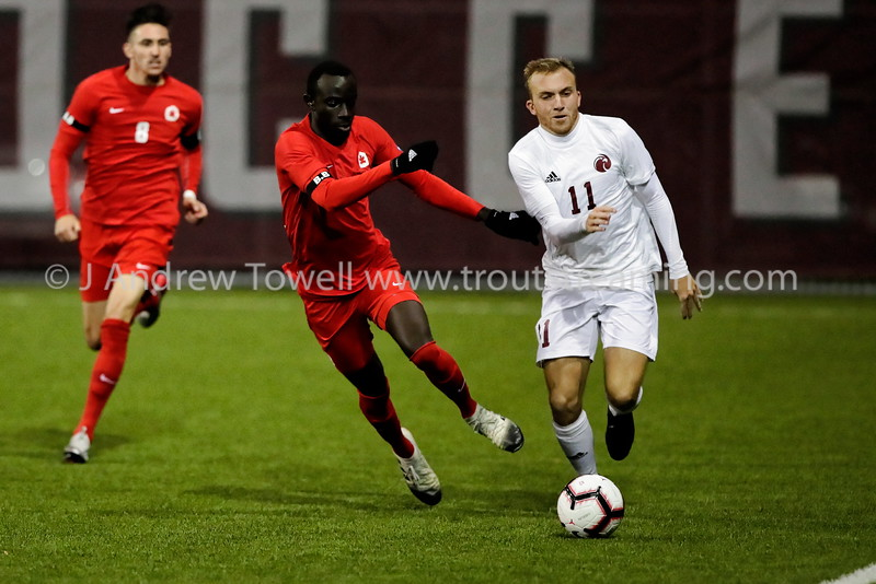20191005 Mens Soccer Seattle Pacific University Falcons versus Simon Fraser University Clan Snapshots