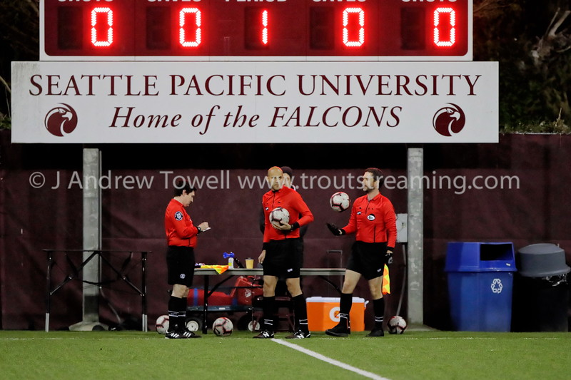 20191012 Mens Soccer Seattle Pacific University Falcons versus Montana State University Billings Yellowjackets Snapshots