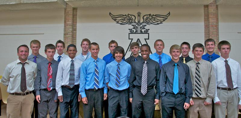 Adams Boys Varsity Soccer 2011