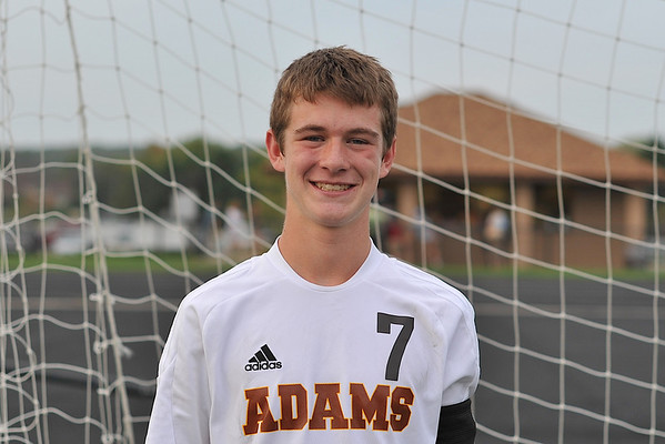 Adams Soccer Boys Varsity Team and Individual Photos 2010