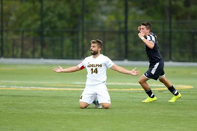 Adelphi Mens Soccer vs Merrimack College | Oct 14th 2017 | Credit: Chris Bergmann Photography