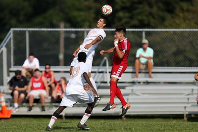 Amityville vs Hills West Boys Soccer | News 12 Varsity | Credit: Chris Bergmann Photography