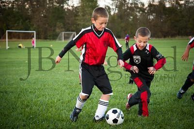 Erik Nygaard U-8 Fall Soccer