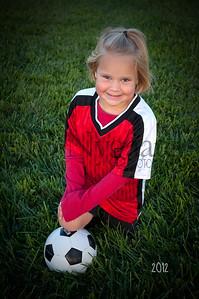 Avery Smith U-8 Fall Soccer 05